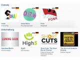 Bild: YouTube gibt den Start von 60 neuen Kanälen bekannt.