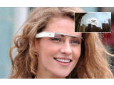 Bild: Zukunftsmusik: Die Google-Brille zeigt beim Blick in den Himmel den Wetterbericht.