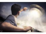 Bild: Ach Herrgott!! Ein UFO ist gelandet.