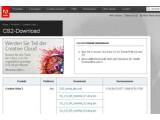 Bild: Adobe bietet die Programmsammlung Creative Suite 2 gratis an.