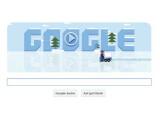 Bild: Im aktuellen Google Doodle wird auf dem Eis gewerkelt.