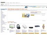 Bild: Amazon Cyber Monday: Der Online-Versandhändler zählt die Tage bis seine Angebotswoche startet.