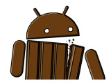 Bild: Das Android-Männchen im KitKat-Look.