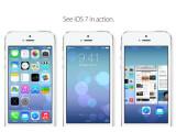 Bild: Apple iOS 7 präsentiert sich in einem komplett neuen Design.