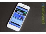 Bild: Das Apple iPhone 5S wird sich Gerüchten zufolge von seinem Vorgänger iPhone 5 (Bild) nur durch eine neue Kamera und einen neuen Prozessor unterscheiden.