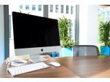 Bild: Apples iMac machte sich schon immer gut auf dem Schreibtisch. Da macht die technisch überarbeitete Verison mit Haswell-CPU keine Ausnahme.