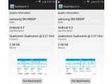 Bild: Ars Technica beweist mit einem Trick, dass Samsung bei bekannten Benchmarks wie Geekbench 3 die Leistung des Smartphones hochfährt.