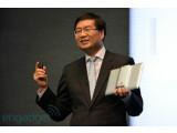 Bild: Asus-Chef Jerry Shen präsentierte in Taipeh das neue Padfone Infinity.