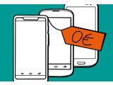Bild: Aufgrund einer Entscheidung des Bundesfinanzhof könnten 0-Euro-Smartphones zum Handy-Vertrag bald der Vergangenheit angehören.