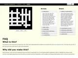 Bild: Ben Falconers hat die Top 1.000 Adobe-Passwörter in ein Kreuzworträtsel verpackt.