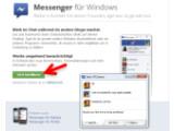 Bild: Bild 1: Facebook Messenger für Windows herunterladen.
