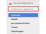Bild: Bild 1: Google Chrome Webstore besuchen.