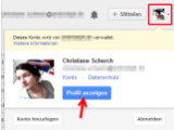 Bild: Bild 1: Google-Plus-Profil aufrufen.
