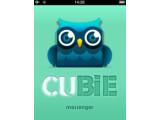 Bild: Bild1: Startbildschirm des Cubie-Messengers.