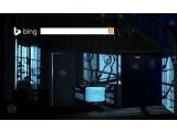 Bild: Auf der Bing-Startseite betreten Sie ein dunkles Zimmer.