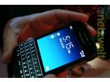 Bild: Das BlackBerry Q10 bietet eine QWERTZ-Tastatur.