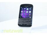 Bild: Das BlackBerry Q10 misst das klassiche BlackBerry-Format mit einen auf Fingesteuerung ausgelegtem Betriebssystem.