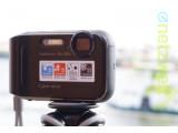 Bild: Die auf der CES 2013 in Las Vegas vorgestellte Sony Cyber-shot DSC-TF1 im Test.