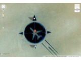 Bild: Das Denkmal aus der Luft aufgenommen.