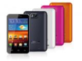 Bild: Das Easypix EP5 kommt mit vier farbigen Covern.