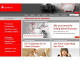 Bild: Einige Internetseiten der Sparkasse waren betroffen.