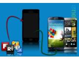 Bild: Mit einigen Apps können Sie ihr Smartphone in ein Galaxy S4 oder HTC One verwandeln.