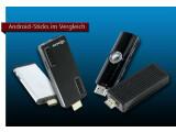 Bild: Entertainer fürs Heimnetzwerk: Netzwelt hat vier Android-HDMI-Sticks getestet.