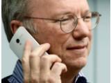 Bild: Eric Schmidt am Rande der Allen and Co.-Konferenz.