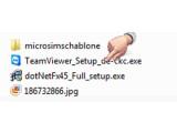 Bild: EXE-Datei nach Download anklicken.