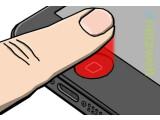 Bild: Ein Fingerabdruckscanner soll das Hauptfeature des iPhone 5S sein.