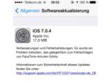 Bild: Ein Firmware für Apple iOS 7-Geräte steht zum Download bereit.