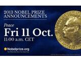 Bild: Der Friedensnobelpreis wird am 11. Oktober verliehen.