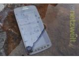 Bild: Das Galaxy S4 Active ist gegen Staub und Wasser geschützt.