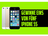Bild: Gewinne eins von fünf iPhone 5s auf Facebook.