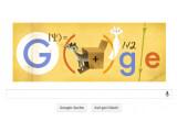 Bild: Google Doodle zum 126. Geburtstags des Physiknobelpreisträgers Erwin Schrödinger.