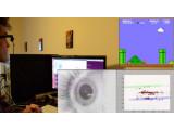Bild: Google Glass inklusive Augensteuerung: Entwickler Brandyn White spielt Super Mario Bros. nur durch seine Blicke.
