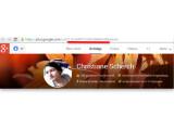 Bild: Google-ID in Google+-Profil.
