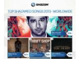 Bild: Die am häufigsten getaggten Songs weltweit mit Shazam.