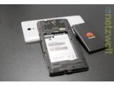 Bild: Das Huawei Ascend G700 erlaubt es zwei SIM-Karten parallel zu betreiben.