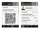 Bild: Die Identität eines Kontaktes setzt sich in Threema aus ID-Kennung und Schlüssel-Fingerabdruck zusammen.