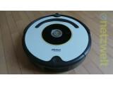 Bild: Der iRobot Roomba 620 reinigt Zimmer nach dem Chaos-Prinzip.