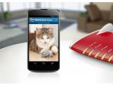 Bild: Katzenfotos live abrufbar: Die FRITZ!App Cam macht das Android-Smartphone zur Webcam.