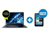 Bild: Jeder Kauf zwei Treffer: Käufer eines Samsung-Ultrabooks der Serie 9 oder eines All-In-One-PCs (Serie 5 / Serie 7) erhalten ein Galaxy Tab 2 gratis dazu.