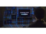 Bild: Die Kombination aus Kamera und Projektor erweitert das Geschehen um den Fernseher herum.
