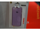 Bild: Krusell zeigt auf der IFA Schutzhüllen für das kommende iPhone 5C. Echt oder Fake?