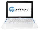 Bild: Lässt sich per Handy-Netzteil aufladen: HP Chromebook 11