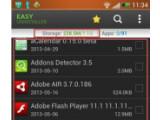 Bild: Liste der Apps auf dem Androiden