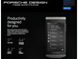 Bild: Luxus-Smartphone von Blackberry: das Porsche Design P'9982.