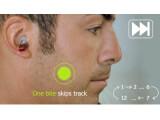 Bild: Der MP3-Player Split wird mit dem Gebiss gesteuert.