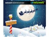 Bild: Der netzwelt Adventskalender versorgt Sie bis zum 24. Dezember mit attraktiven Preisen.